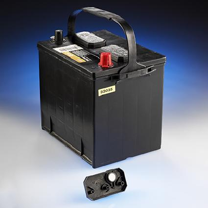 Lead and acid battery vents