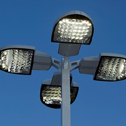 outdoor street lamps