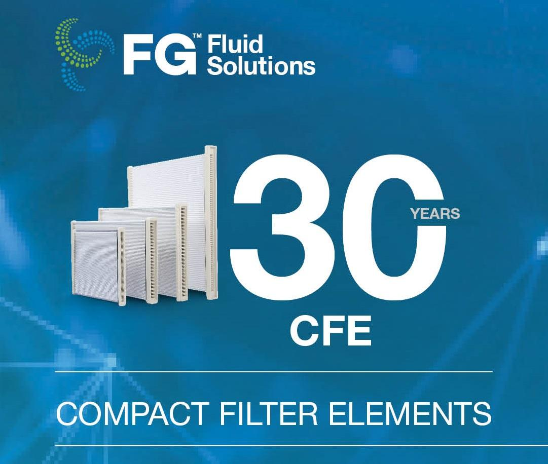 30 Years CFE Compact Filter Elements