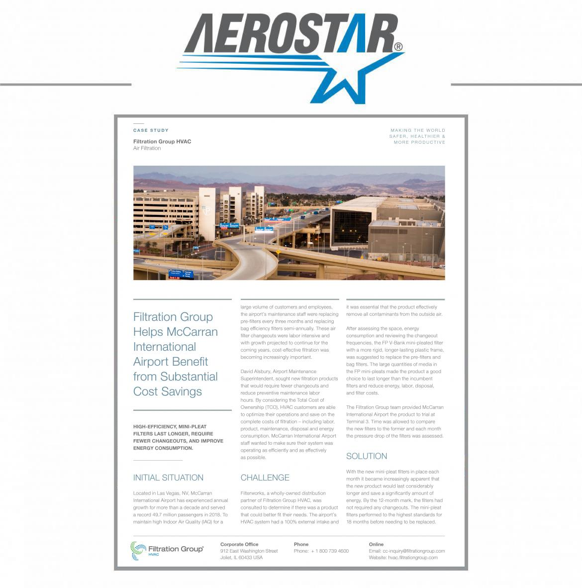 Filtration Group-HVAC McCarran and International Airport