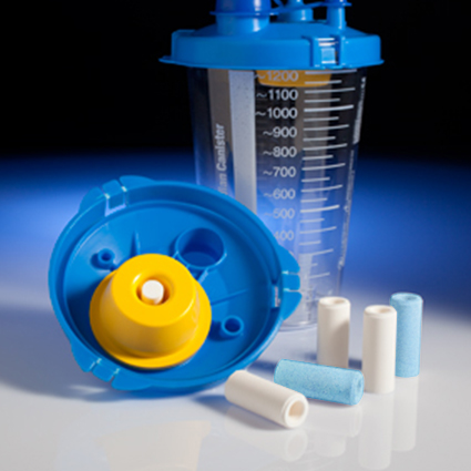 suction canister filters details