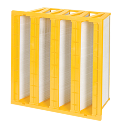 V-Bank and Panel Minipleat Filters