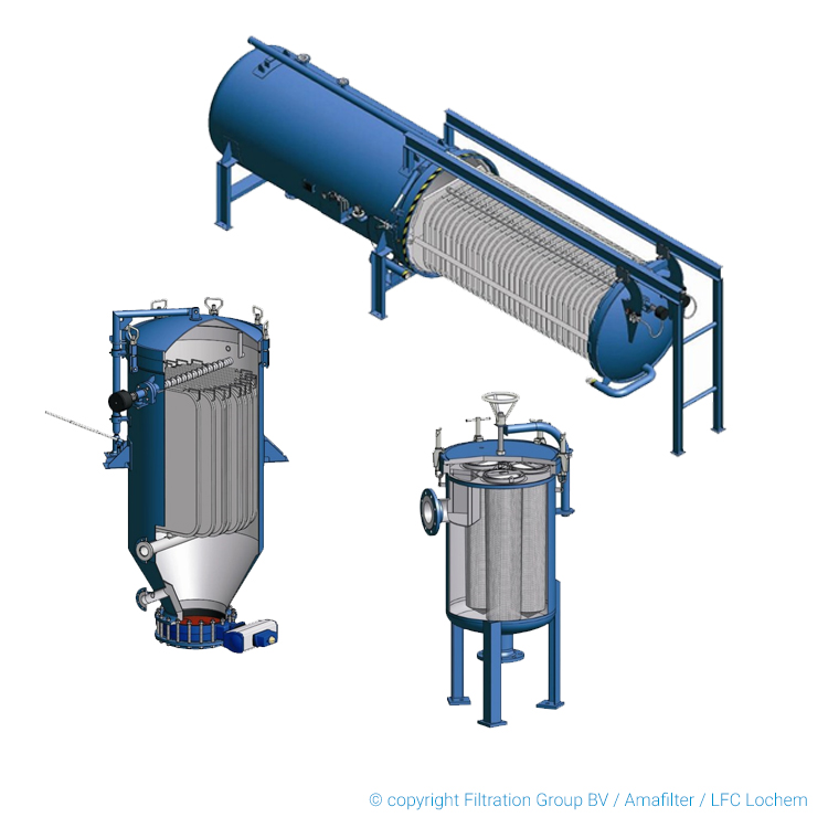 various system products pressure leaf filter horizontal vertical copyright filtration group bv